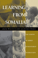 Learning From Somalia Pdf/ePub eBook