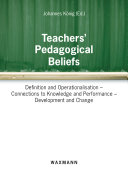 Teachers  Pedagogical Beliefs