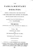 Pdf The Parliamentary Debates (official Report[s]) ...