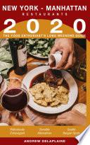 2020 New York   Manhattan Restaurants