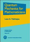 Quantum Mechanics for Mathematicians Pdf/ePub eBook