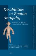Disabilities in Roman Antiquity
