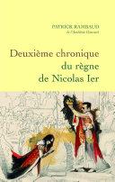 Pdf Deuxième chronique du règne de Nicolas Ier Telecharger