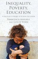 Inequality  Poverty  Education