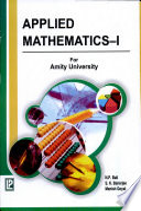 Applied Mathematics I Au Up