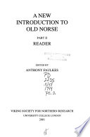 A New Introduction to Old Norse: Reader
