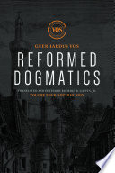 Reformed Dogmatics Soteriology
