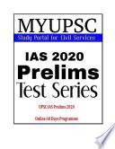 UPSC Prelims 2020 Online 60 days programme part 2 Book