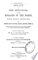 Youatt on the Structure and the Diseases of the Horse  with Their Remedies Book