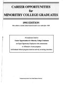 Career Opportunities for Minority College Graduates