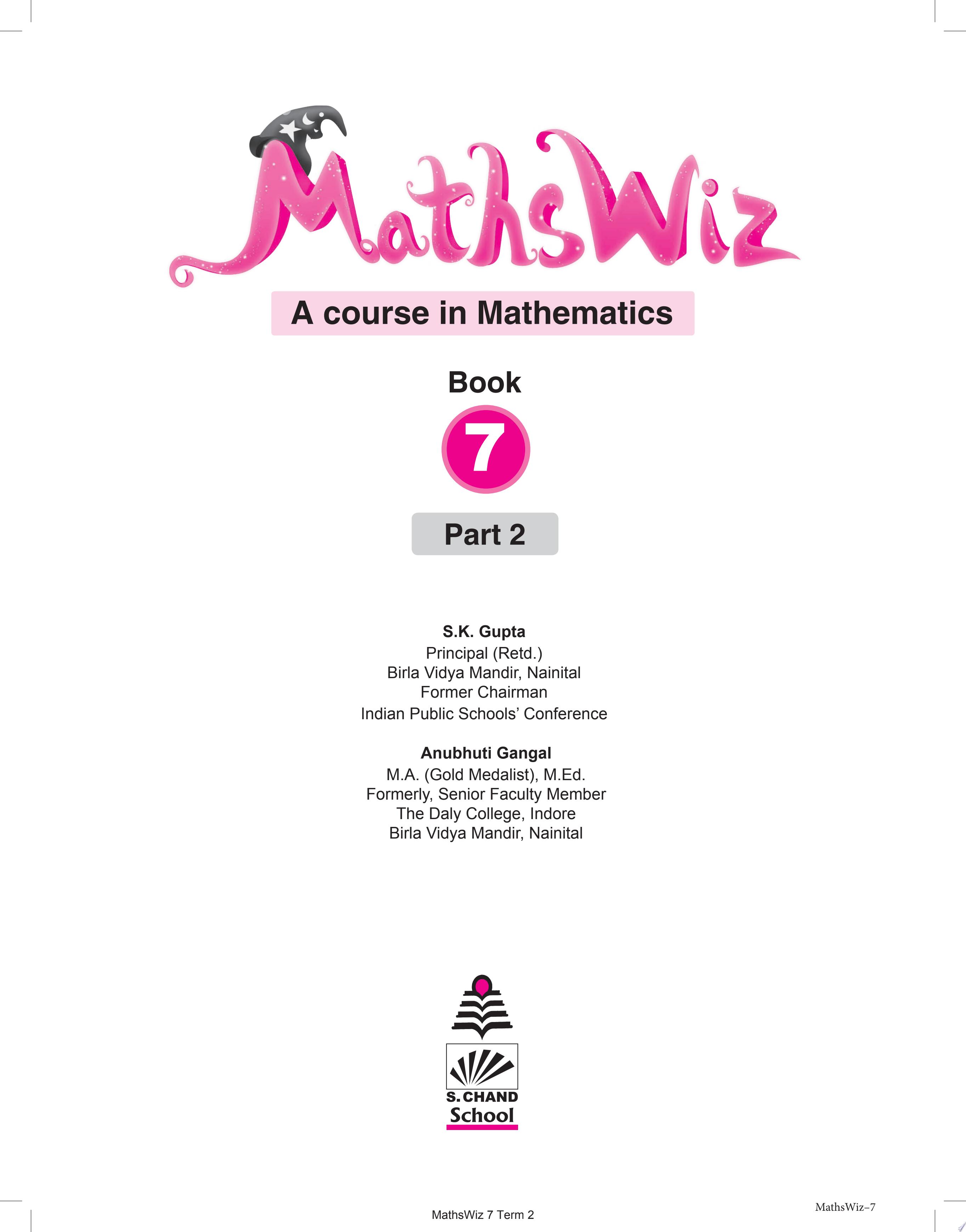 MathsWiz Class 7 Part 2