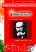 The International Journal Of Indian Psychology Volume 2 Issue 2 No 1