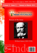 The International Journal of Indian Psychology, Volume 2, Issue 2, No. 1