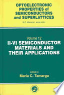 Ii Vi Semiconductor Materials And Their Applications Book PDF