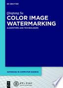 Color Image Watermarking Book PDF