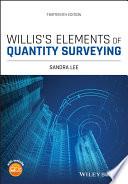 Willis s Elements of Quantity Surveying