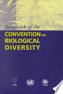 Handbook of the Convention on Biological Diversity Book