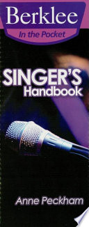 Singer s Handbook  Music Instruction  Book