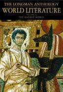 The Longman Anthology of World Literature