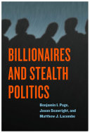 Billionaires and Stealth Politics Pdf/ePub eBook