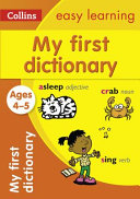 My First Dictionary, Ages 4-5