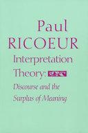 Interpretation Theory
