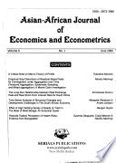 Asian-African Journal of Economics and Econometrics