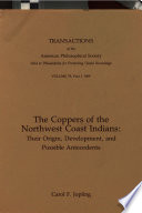 The Coppers Of The Northwest Coast Indians