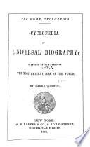 Cyclopedia Of Universal Biography