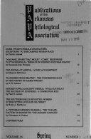 Publications of the Arkansas Philological Association