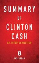 Summary of Clinton Cash Book