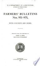 Farmers' Bulletin Pdf/ePub eBook
