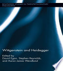 Wittgenstein and Heidegger