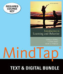 Introduction to Learning and Behavior   Mindtap Psychology  1 term Access