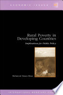 Rural Poverty in Developing Countries: Implications for Public Policy