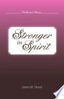 Stronger In Spirit Book PDF