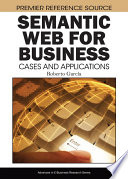 Semantic Web for Business  Cases and Applications Book