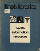 Health Information Resources