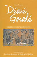 Selected Poems of Déwé Gorodé