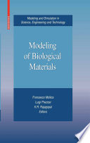 Modeling of Biological Materials