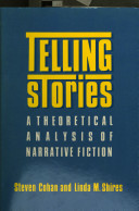Cover image of Telling stories : a theoretical analysis of narrative fiction