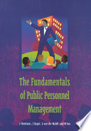 The Fundamentals of Public Personnel Management