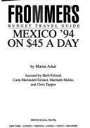 Mexico on Fifty Dollars a Day   94 Book