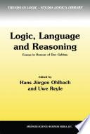 Logic  Language and Reasoning