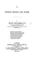 The Church Before the Flood