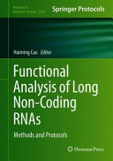 Functional Analysis of Long Non Coding RNAs Book