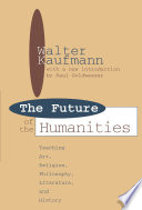 Future of the Humanities