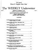 The Weekly Underwriter Book PDF