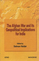 The Afghan War and Its Geopolitical Implications for India Book PDF