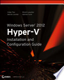Windows Server 2012 Hyper V Installation And Configuration Guide Book PDF